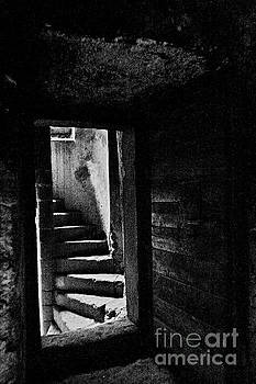 Door and ladder by Giuseppe Cocco