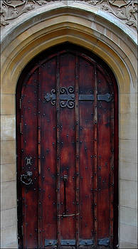 TONY GRIDER - DOOR AT BATH ABBEY