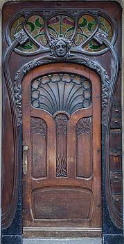 W Chris Fooshee - Door at number 22 in Strasbourg