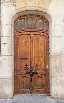 W Chris Fooshee - Door at number 5 in Nancy