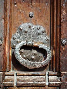 Door handle in York Minster by Louise Heusinkveld