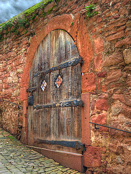 Door in a Red Wall by Darin Williams
