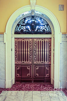 Door in Library of Congress by Thomas Marchessault