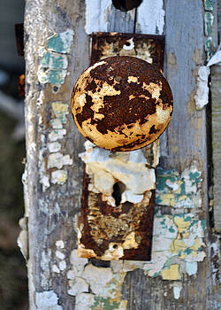 Door Knob by Kelly E Schultz