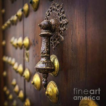 Door Knocker Alameda Apodaca Cadiz Spain by Pablo Avanzini
