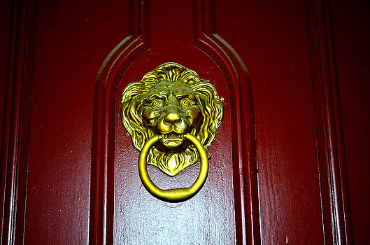 Door Knocker by Charles Bacon Jr