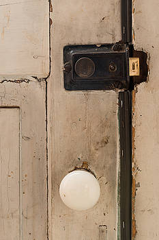 Door latch and knob by Paul Duncan