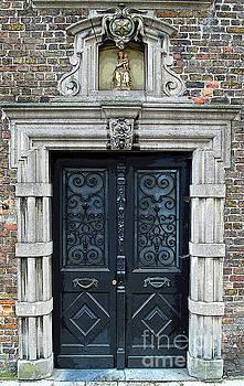 Jost Houk - Door of Mary and Child