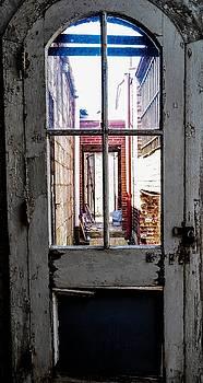 Door to outside by Terepka Dariusz
