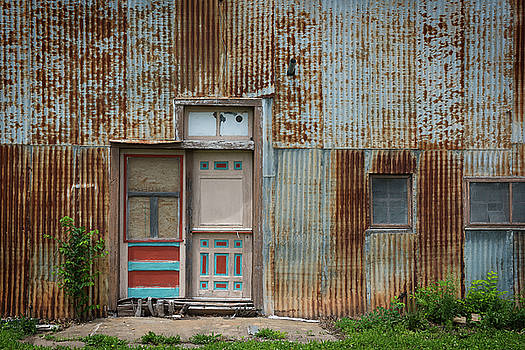 Door, Toronto, Kansas by Bud Simpson