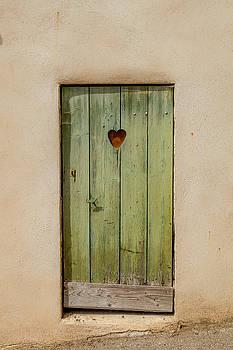 W Chris Fooshee - Door with Heart in Ancy
