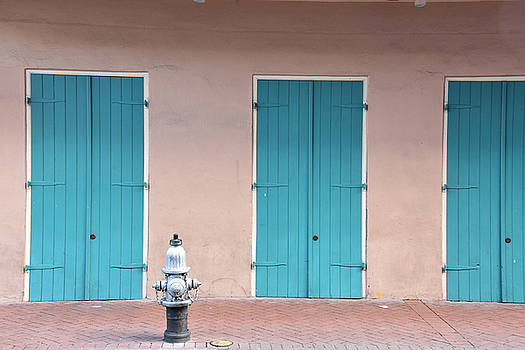 Door1-french Quarter by Al Perry