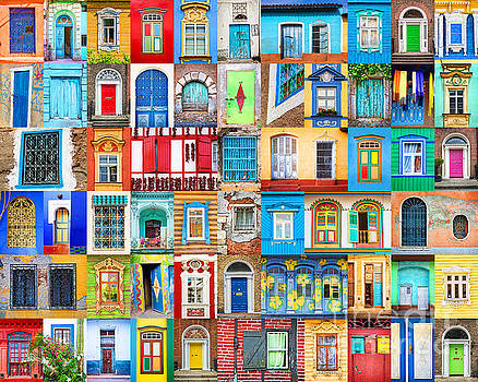 Delphimages Photo Creations - Doors and windows of the world