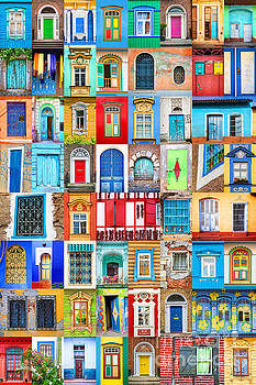 Delphimages Photo Creations - Doors and windows of the world - vertical