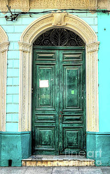 Wayne Moran - Doors of Cuba Green Door
