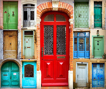 doors of France by Elly De vries