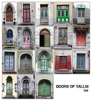 Justyna Jaszke JBJart - Doors Of Tallinn