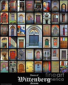 Jost Houk - Doors of Wittenberg Germany