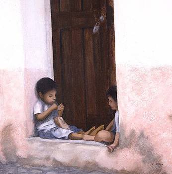 Doorway in Taxco by Frances  Dillon