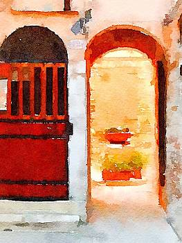 Doorway in Venice by Kenna Westerman