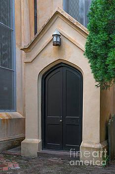 Dale Powell - Doorway to Unitarian Church