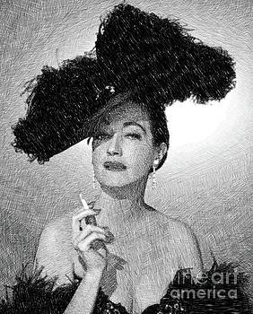 John Springfield - Dorothy Lamour, Vintage Actress by JS