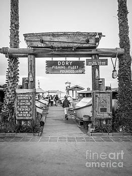 Paul Velgos - Dory Fishing Fleet Picture in Newport Beach California