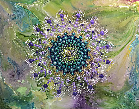 Dot Mandala by Dee Carpenter