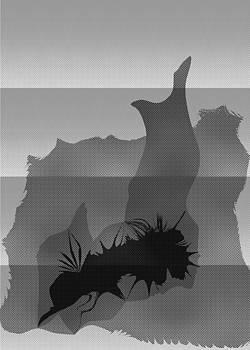 Dot Splat Strata by Kevin McLaughlin