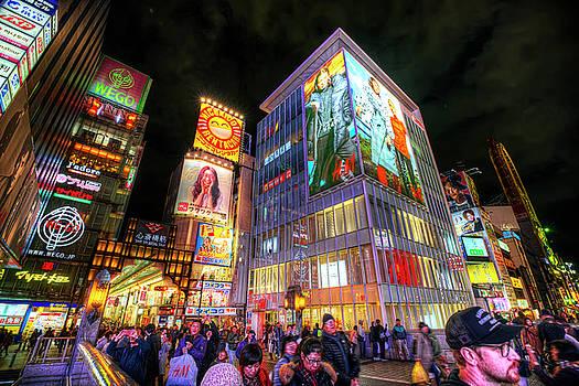 Dotonbori Osaka by Wayne Sherriff