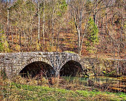 Double Arch Stone Bridge by TnBackroadsPhotos