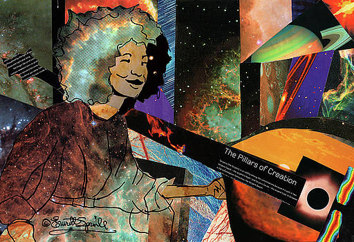 Double Bass Nebula - Esperanza Spalding by Everett Spruill