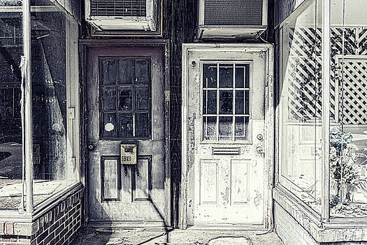 Sharon Popek - Double Doors Closed