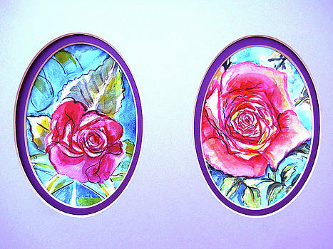 Double Feature Roses by Olga Kaczmar