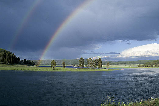 Sandra Bronstein - Double Rainbow at Alum Creek