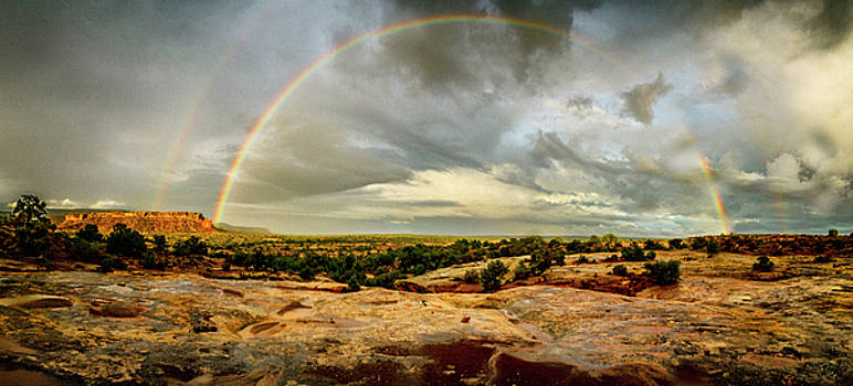 Canyonlands - Double Rainbow by Miko At The Love Art Shop