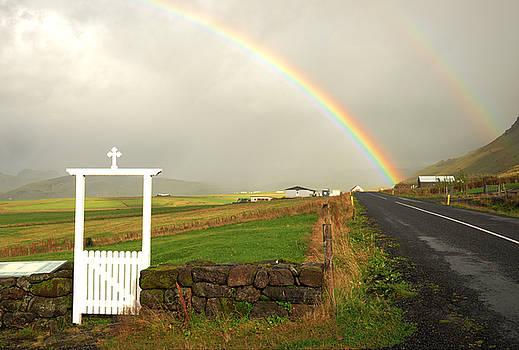 Double  Rainbow, Iceland 2015 by Joseph Duba