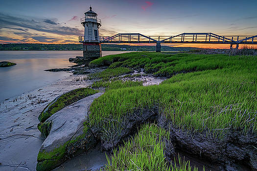Doubling Point at Dusk by Rick Berk