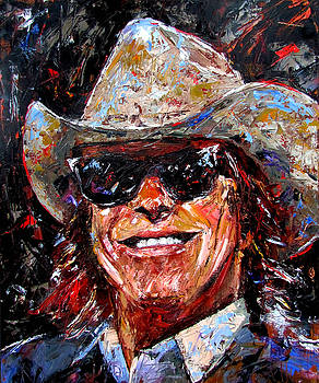 Doug Sahm by Debra Hurd