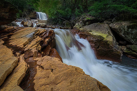 Douglas Falls by Michael Donahue