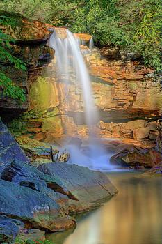 Douglas Falls, WV by Jack Nevitt