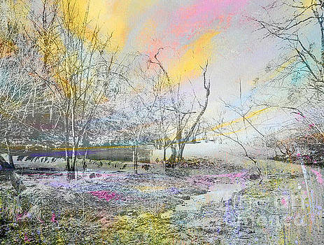 Dovedale In Winter by Tracy-Ann Marrison