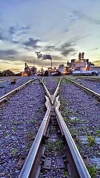 down by the tracks in Atchison. by Dustin Soph