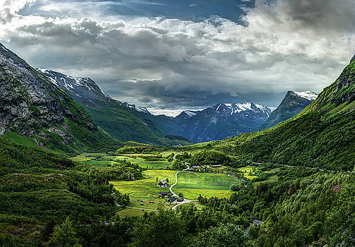 Down in the valley by Dmytro Korol