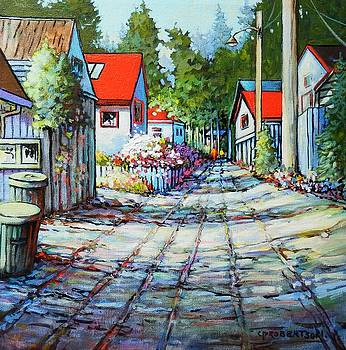 Down the Lane, Crescent Beach B. C. by Catherine Robertson