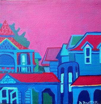 Down the Lane in Oak Bluffs by Debra Bretton Robinson