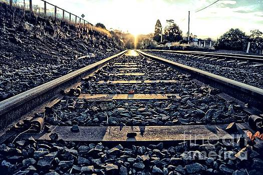 Down the line by Evan Sorrell