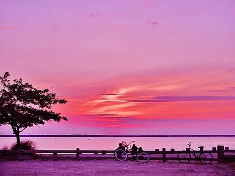 Susan Carella - Summer Sunset At The Shore