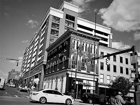 Down Town Baltimore City by Debra Lynch