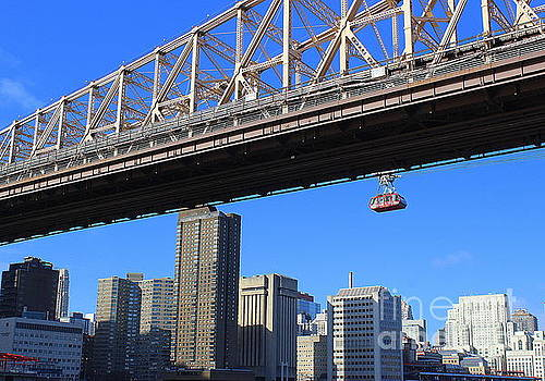 Down Under the Queensborough Bridge by Dora Sofia Caputo Photographic Art and Design